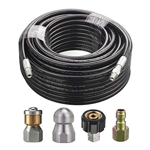 100 ft power washer hose - 7