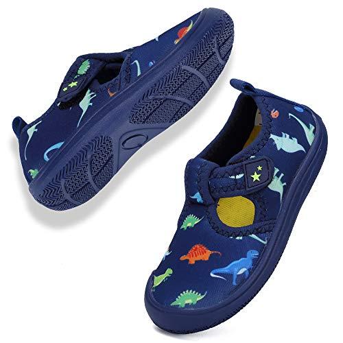 Rokiemen Sandalen für Kleinkinder Aquaschuhe Wasserschuhe Jungen Mädchen Badeschuhe Schnell Trocknend Schwimmschuhe Strandschuhe Barfußschuhe Surfschuhe