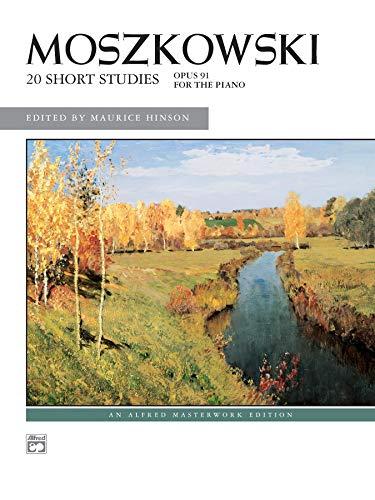 Price comparison product image Moszkowski -- 20 Short Studies,  Op. 91 (Alfred Masterwork Edition)