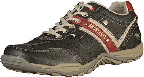 MUSTANG Herren Halbschuhe Schwarz, Schuhgröße:EUR 47