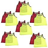 Adorox 12 Pack Adult - Teens Scrimmage Practice Jerseys...
