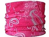 Multifunctional Headwear Pink Paisley