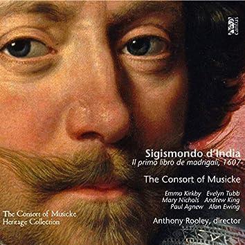 D'India: Il primo libro de madrigali, 1607