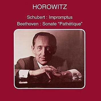Schubert: Impromptus - Beethoven: Piano Sonatas Nos. 8 & 28