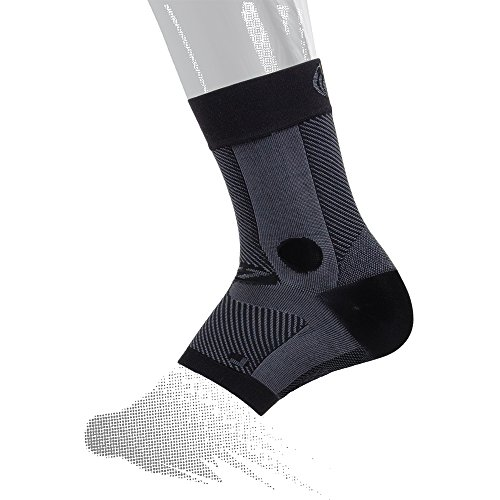 OS1st AF7 Ankle Bracing Sleeve (Single Sleeve) stabilizes weak Ankles, assists with Ankle Instability and Inversion sprains, and relieves Achilles tendonitis (Right X-Large)