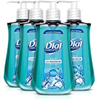 4-Pack Dial Antibacterial Liquid Hand Soap, Spring Water, 9.375 Ounce