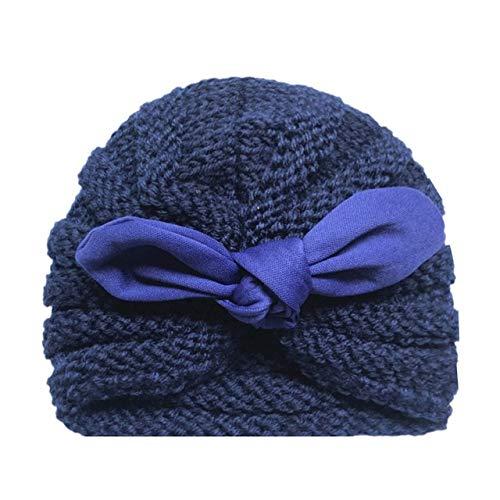 Sombrero de bebé de Invierno de Punto para niñas Color...