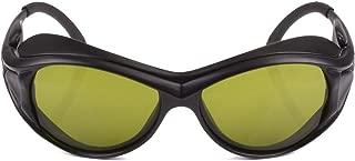 190nm-550nm / 800nm-1700nm Wavelength Professional Laser Safety Glasses for 405nm, 445nm, 450nm, 520nm, 532nm, 808nm, 980nm, 1064nm, 1100nm Laser Light (Style 2)