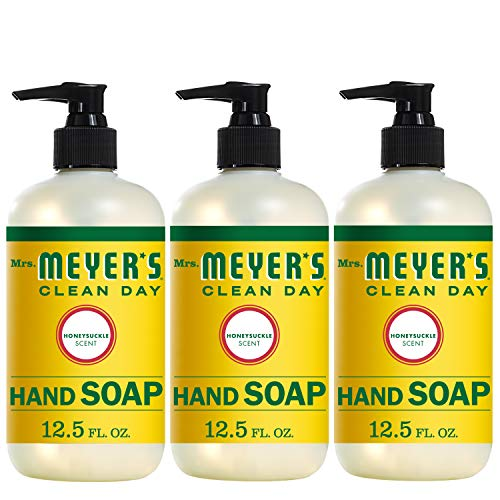 Mrs. Meyer's Clean Day Hand Soap, Honeysuckle, 12.5 fl oz, 3 ct