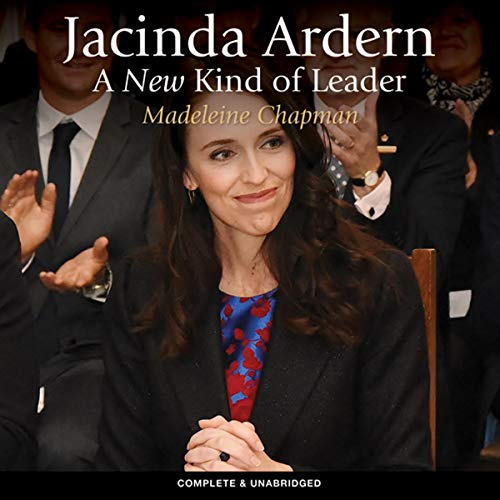 Jacinda Ardern cover art