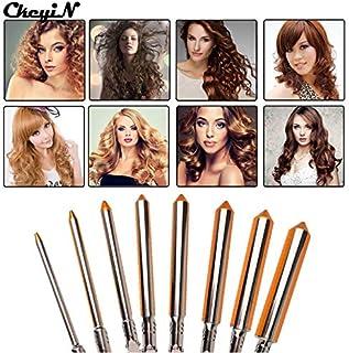 Shoppy Star:Professional Hair Curling Irons 9/13/16/19/25/31mm Magic Curly Wand Tool Deep Hair Curler Electrical Deep Wave Hair Waver S47 : 19mm