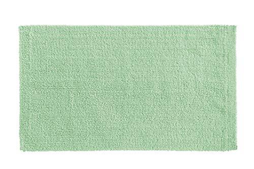Amazon Basics Everyday Cotton Bath Rug, 20' x 34', Seaglass Green