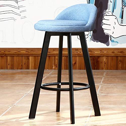 QYS Bar tafel met stoelen, eenvoudige stoelen, smeedijzer, hoge barkruk voor barkruk vooraan bar stoel D1111