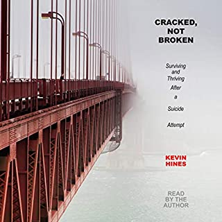 Cracked, Not Broken audiobook cover art