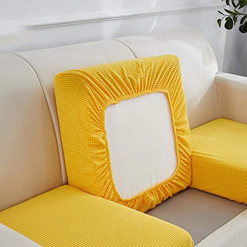 Gramke Funda de sofá extraíble Lavable elástica de Forro Polar Polar para Sala de Estar Fundas de Gran Elasticidad engrosadas de Varios tamaños, 12, (60-80) * (140-180)