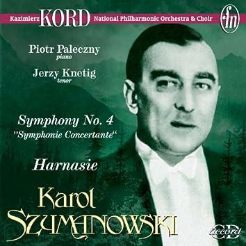 """Szymanowski, K.: Symphony No. 4, """"Symphonie Concertante"""" / Harnasie"""