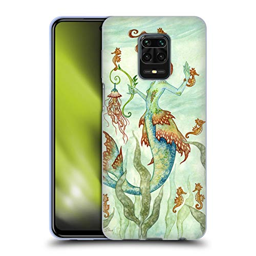 Head Case Designs Licenciado Oficialmente Amy Brown Guardián del Caballo Hadas Elementales Carcasa de Gel de Silicona Compatible con Redmi Note 9 Pro/Redmi Note 9S