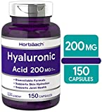 Hyaluronic Acid Capsules | 200 MG | 150 Count | Supports Joint and Skin Hydration | Non-GMO and Gluten Free Supplement | by Horbaach