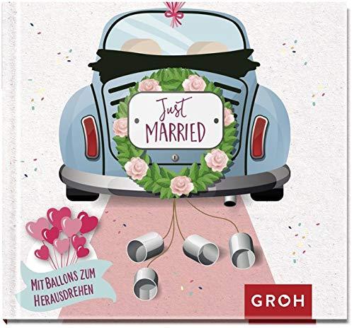 Just married: Mit Luftballons zum Herausdrehen