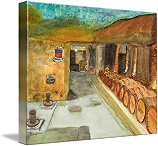 Imagekind Wall Art Print entitled Saint Emilion Wine Cave I by Diana Nadal | 10 x 8
