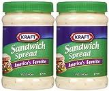 Kraft Sandwich Spread, 15 oz, 2 Pack