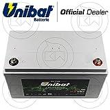Unibat ULT100 Batteria al litio 12V 342x173x212 WH equivalente (12,8V/100Ah)