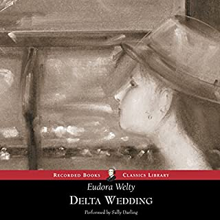 Delta Wedding     A Novel              Written by:                                                                                                                                 Eudora Welty                               Narrated by:                                                                                                                                 Sally Darling                      Length: 12 hrs     Not rated yet     Overall 0.0