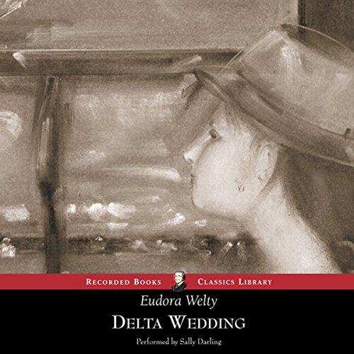 Delta Wedding audiobook cover art