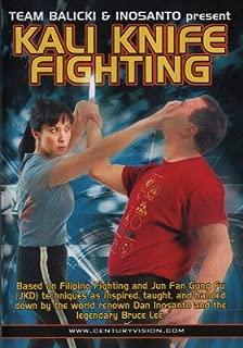 Century Martial Arts Learn Filipino Kali Knife Fighting DVD