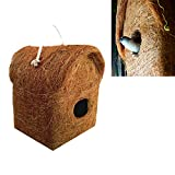 Liveonce gives best attractive design house for your birds and sprrows our bird nest specialy designed for all sparrows and small birds ,love birds etc Our nest has designed with coir it familiar known object to the bird ,it's easily attract all bird...