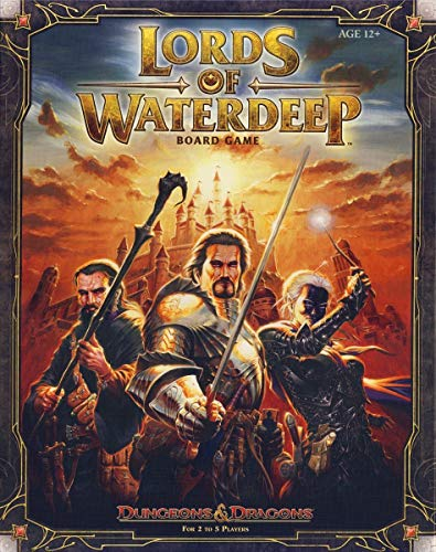 Lords of Waterdeep, un gioco da tavolo Dungeons & Dragons (versione inglese)