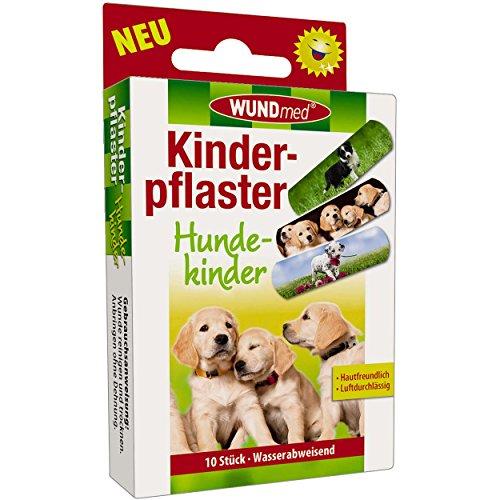 Wundmed 5er Vorteilspack Kinderpflaster Hundekinder, 5 Pack a 10 Stk. (50 Stk.)