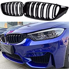 Perfect fit for BMW 4 series F32 F33 F36 M series F80 F82. Modify your car's appearance toward M Performance style with affordable price. Made in premium ABS which made it light and stable . Although it's easy to install, strong recommend replace by ...