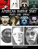American Horror Story Punti Linee Spirali: Libro da Colorare per Adulti
