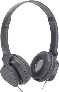 needlid Casques Audio stéréo, Casques -Auriculaires Fonction de Suppression du Bruit Facile à Ranger avec Le Jeu de Micro ...