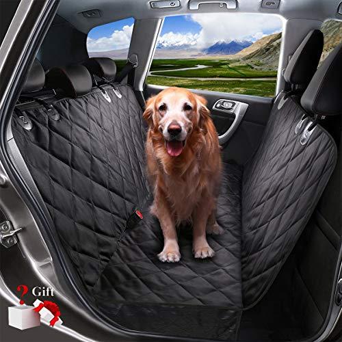 YECAI Hundedecken für Hunde Autodecke Hund Rücksitz Wasserdicht Kratzfest rutschfeste Hund Reisen Hängematte mit Pet Haarentferner für Autos und SUV