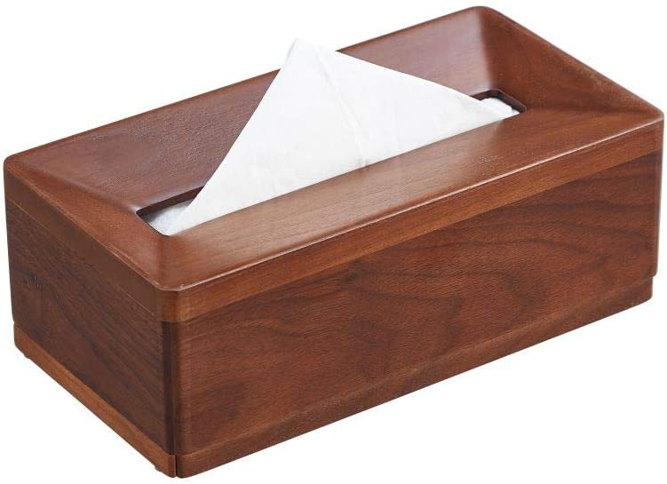 MIHIRO Wooden Popular overseas Rectangular Tissue Box Cover or Of Max 85% OFF Living for Room