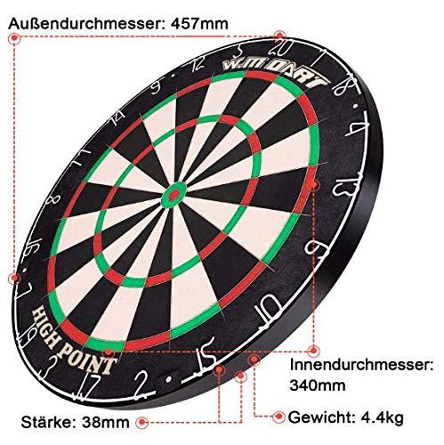 WIN.MAX Bristle Steel Dartboard - 5