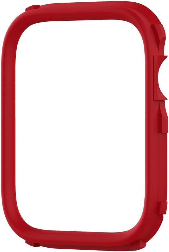 Anillo Rhinoshield Apple Watch Se/5/6 44mm 3/2/1 42mm roja
