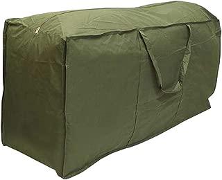 Vosarea Outdoor Furniture Cushion Storage Bag Furniture Protective Bag for Home Outdoor Garden  173x76x51cm  Green