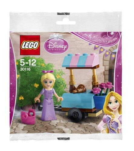 Princesas Disney 30116 de Lego:Rapunzel Visita el Mercado