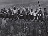 Poster Gigante Obreros en la viga