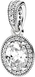 Pandora Women's Vintage Elegance Pendant - Silver Plated