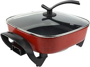 Greensen Cuisinière électrique, Cuisinière électrique en Fonte d'aluminium pour Cuisine