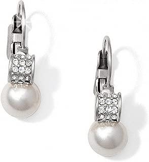 Brighton Meridian Pearl Earrings leverback