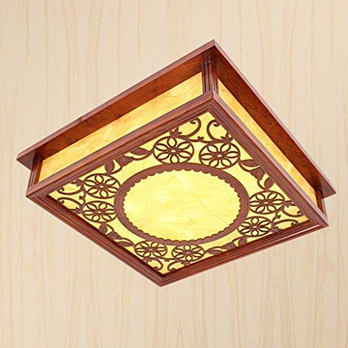 Lámpara de Techo Lámpara cuadrada japonesa del techo de ma