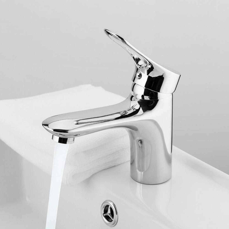 Ayhuir Classic Chrome Bathroom Basin Sink Faucets Zinc Alloy Water Mixer Bath Room Single Handle Basin Mixer Tap