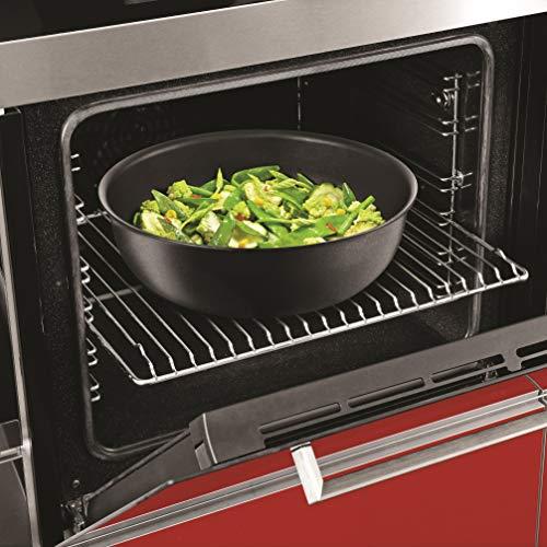Tefal L6507702 Ingenio Expertise - Wok de aluminio, todas las luces, incluida la inducción, negro, 26 cm