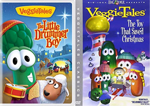 VeggieTales The Little Drummer Boy / The Toy That Saved Christmas