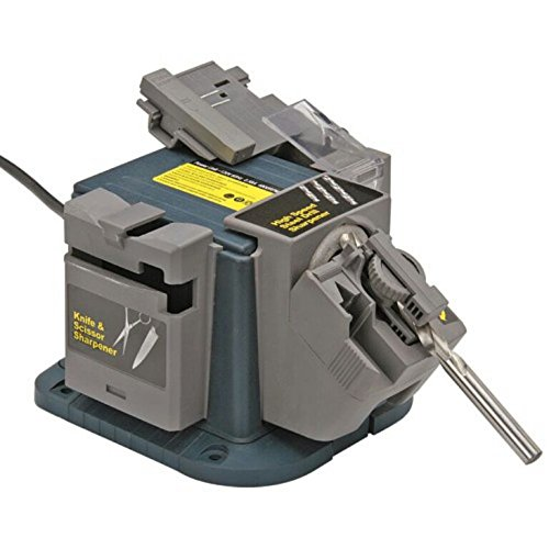 Multipurpose Sharpener for Drill Bits, Chisels, Planer Blades, Scissors and Knives Electric Power...